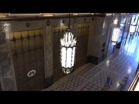 Pure Detroit Fisher Building Tour - I Was Asked To Stop Recording??