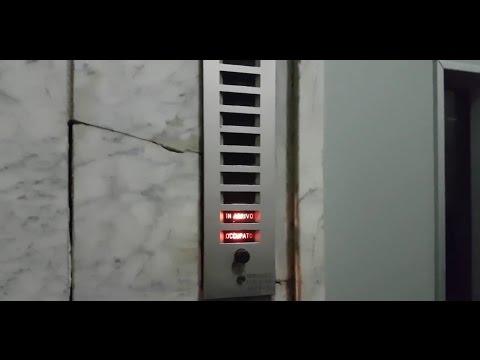 Awesome 1960 C.I.A Traction Elevator@Via Simone Martini 75, Naples, Italy