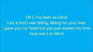 So Blind David Myles lyrics