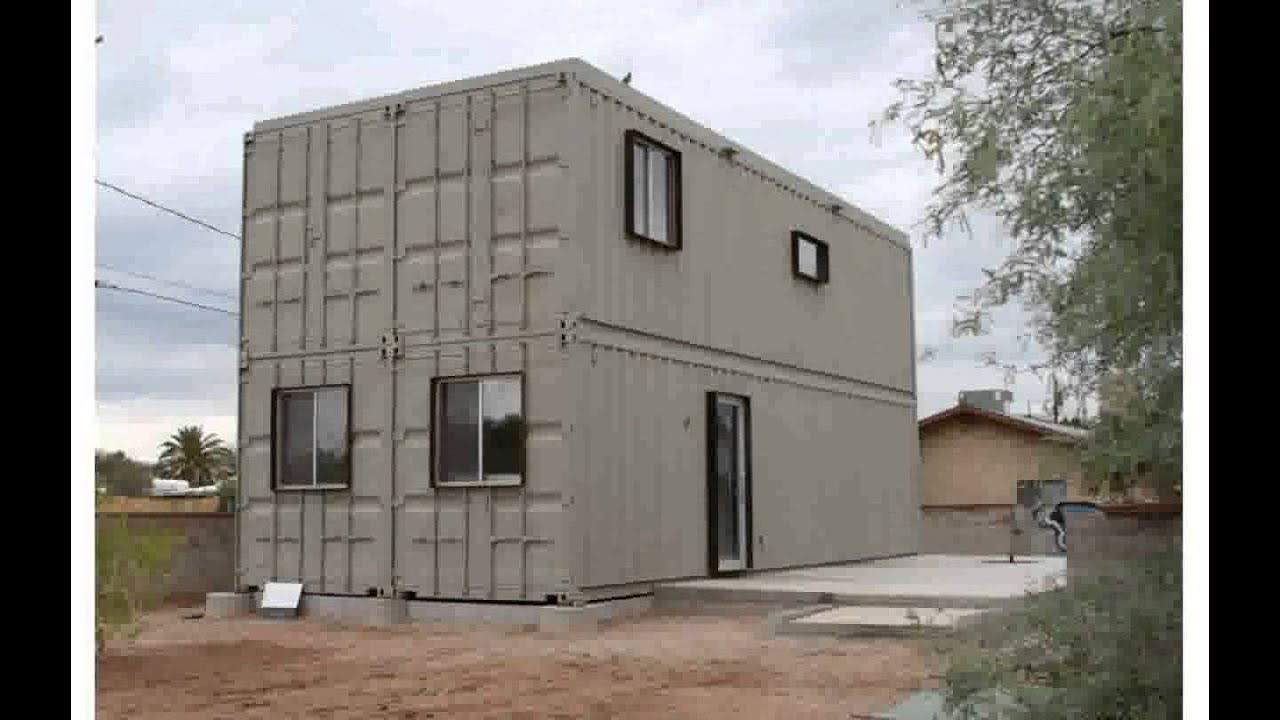 roberiacav - container homes - youtube