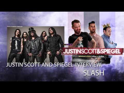 Justin Scott and Spiegel Interview Slash