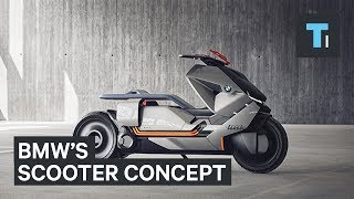 BMW is taking on the scooter market