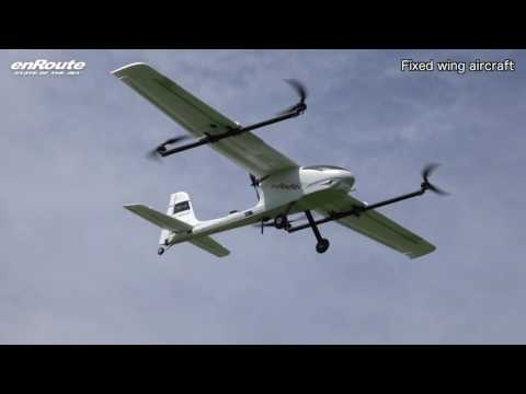 Fixed wing aircraft -Vertical Takeoff & Landing-