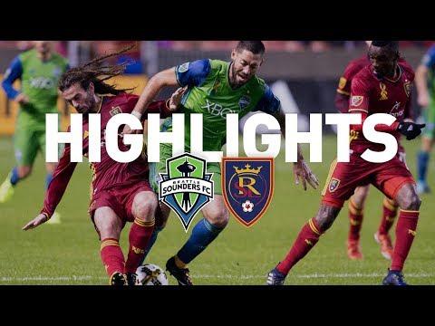 Highlights: Seattle Sounders FC at Real Salt Lake | September 23, 2017