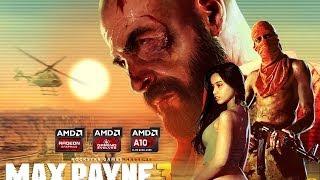 Max Payne 3 - AMD APU A10-6800K [GAMEPLAY]