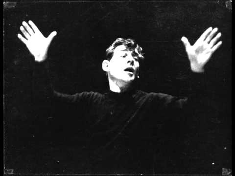 Bernstein discusses Schumann's Symphony no. 2 (1/3)