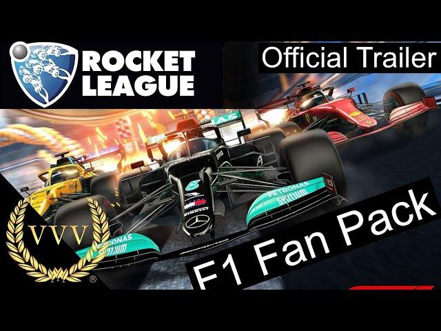 Rocket League F1 2021 Fan Pack Trailer