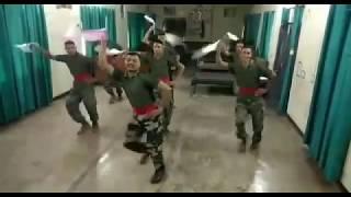   Garhwal Rifle Indian Army   Dance Performing On Garhwali Song   Chaita Ki Chaitwal   Amit Sagar  