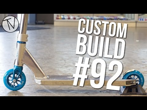 Custom Build #92 (ft. Corey Funk, Capron Funk and Jesse Bayes) │ The Vault Pro Scooters