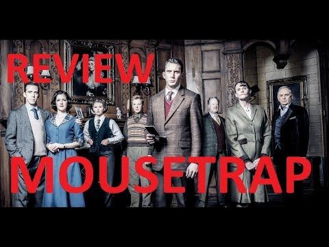 MOUSETRAP St Martin's Theatre West End London REVIEW 2019
