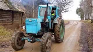 T-40 tractor running after 2 years