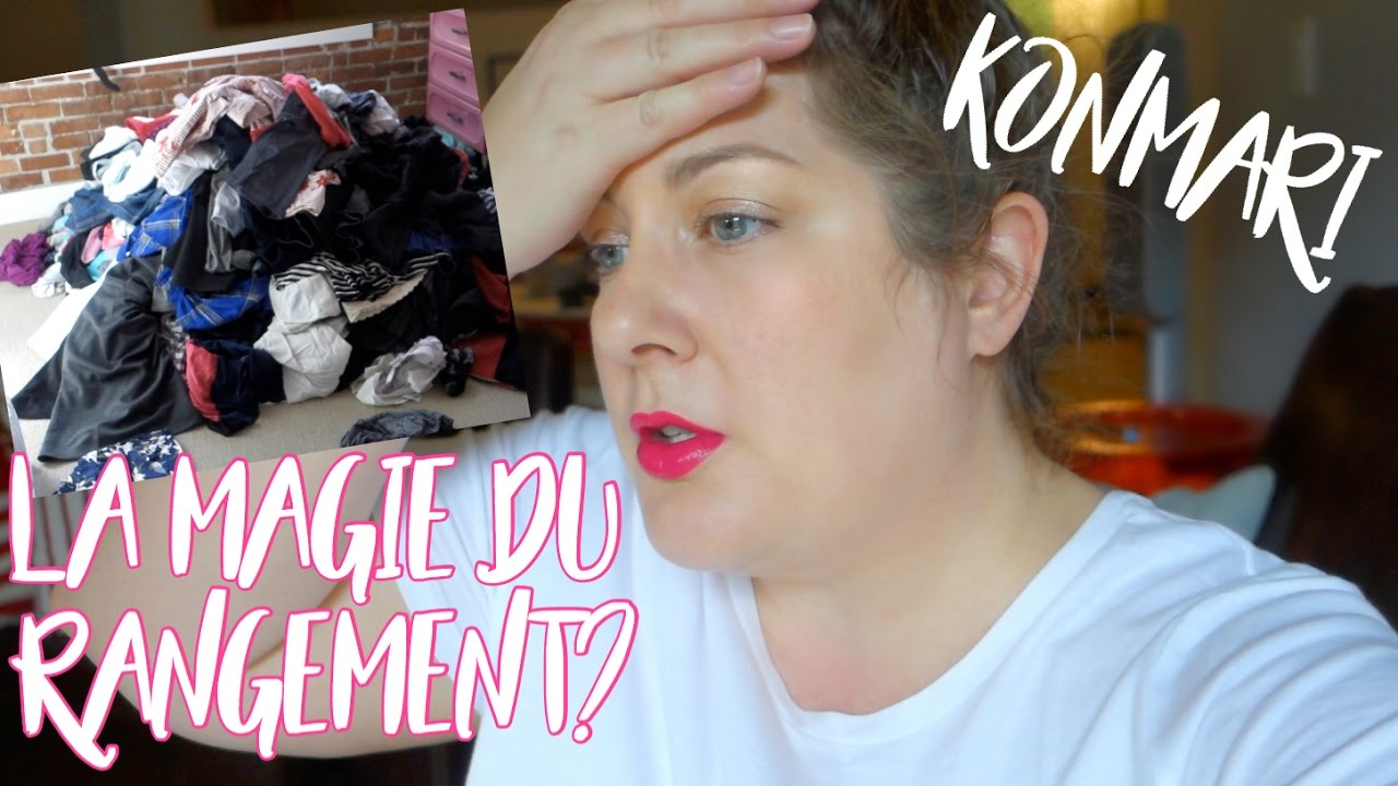 la m thode konmari la magie du rangement v tements vlog youtube. Black Bedroom Furniture Sets. Home Design Ideas