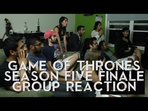 RE-UPLOAD: Game Of Thrones - SEASON 5 FINALE - Group Reaction