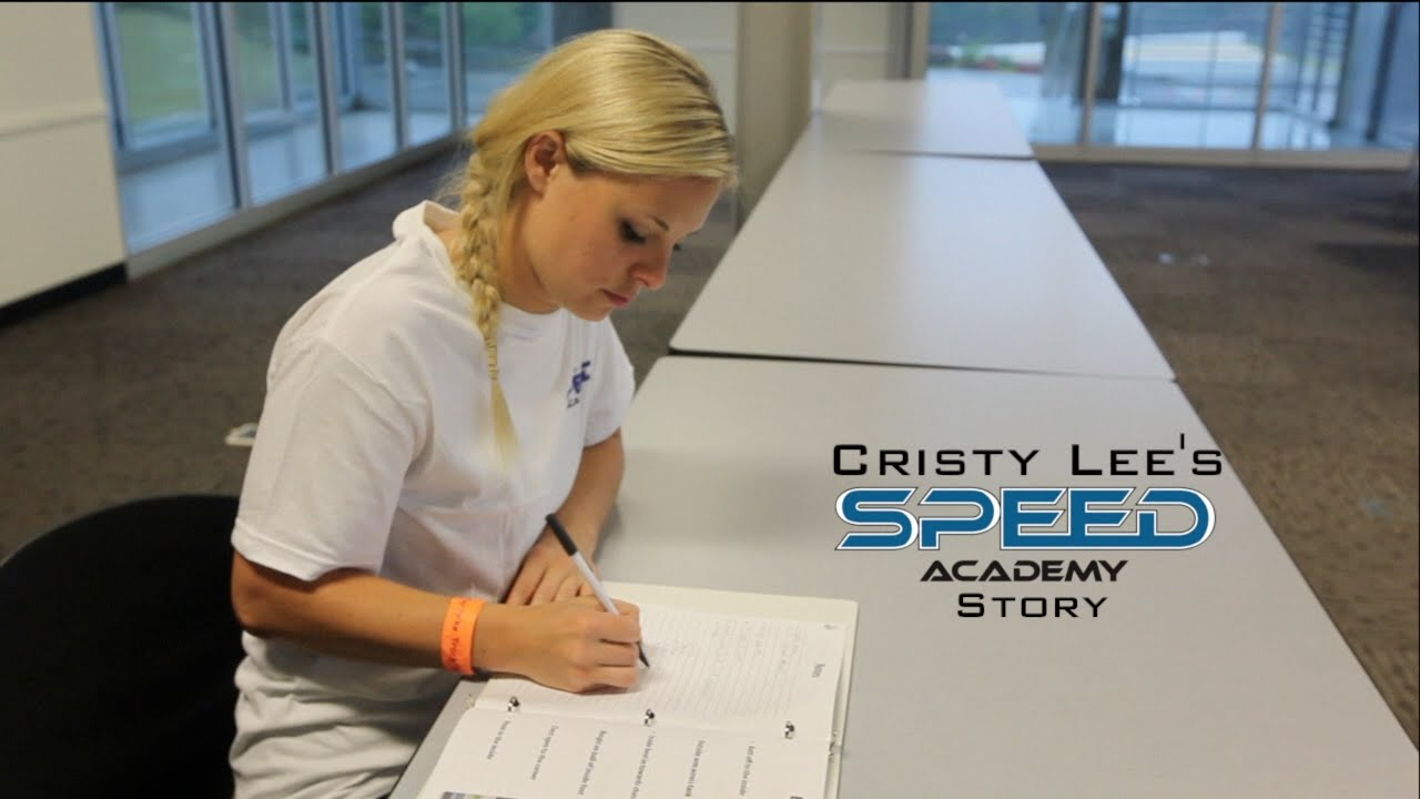 Cristy Lees Story  Jason DiSalvo Speed Academy  YouTube