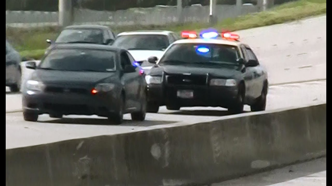 Ford Crown Victoria Police Interceptor >> Florida Highway Patrol Ford Crown Vic at a traffic stop ...