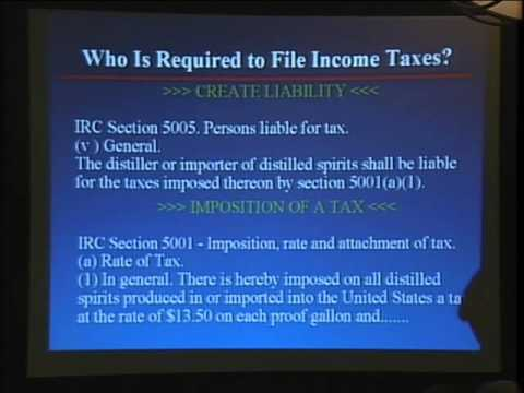 Why does IRS keep telling everyone that the Income Tax is VOLUNTARY?