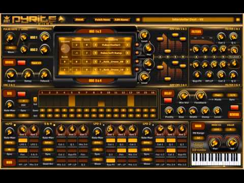 Download Free Atmospheric synthesizer plug-in: ART Pyrite