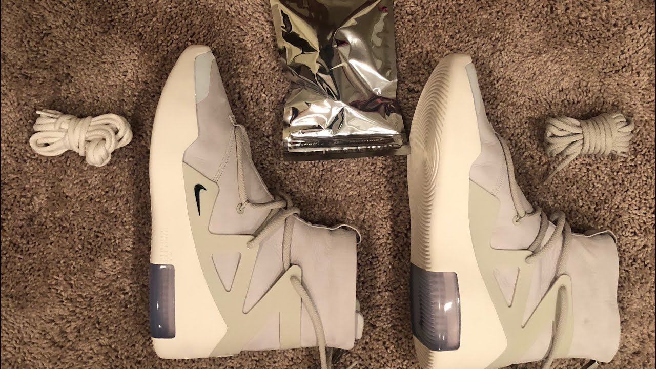 2ee19ed262d1b Jerry Lorenzo Nike Air Fear of God!! Sizing and Before you buy