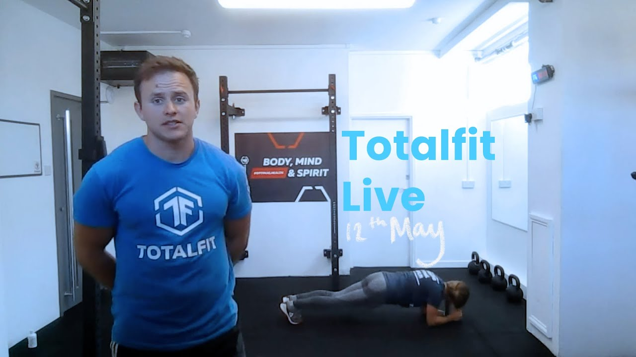 Totalfit Live // 12 May Cover Image