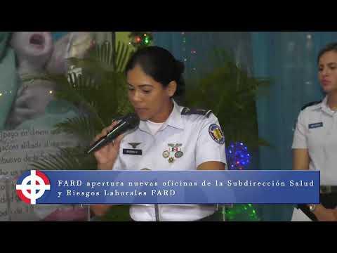 FARD Inaugura Oficina De Subdirección De Salud Y Riesgos Laborales.