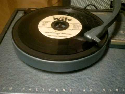 WIFE 1310 AM - Indianapolis Radio Station - 45 RPM Record