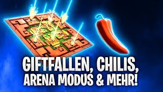 GIFTFALLEN, CHILIS, ARENA MODUS & MORE! 🌶️ | Fortnite: Battle Royale