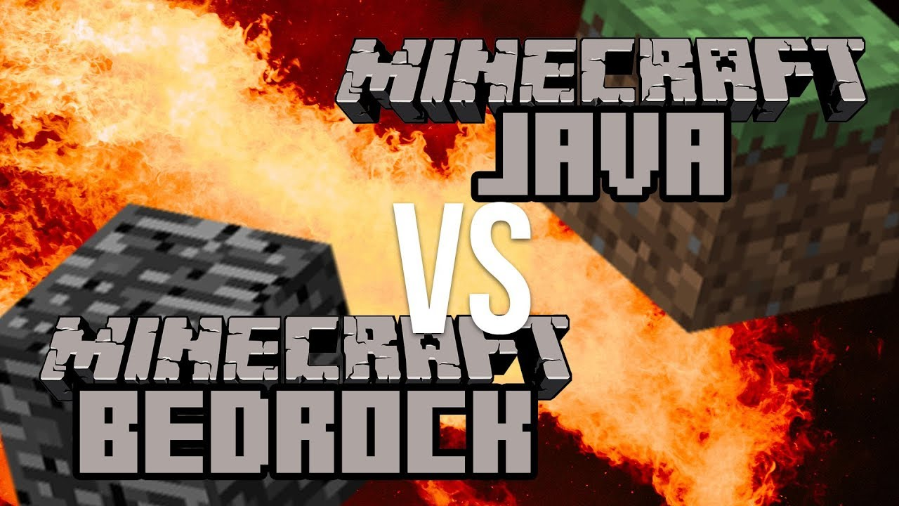 java vs bedrock edition minecraft