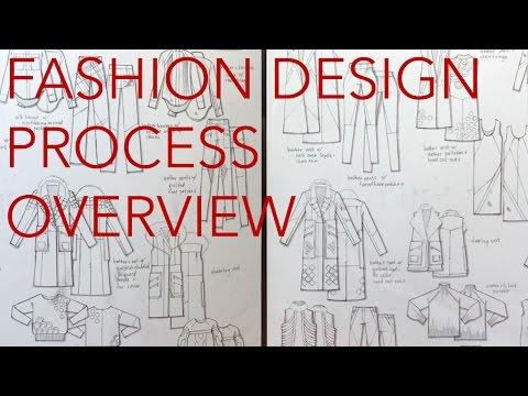 Fashion Design Tutorial 1 Design Process Overview Youtube