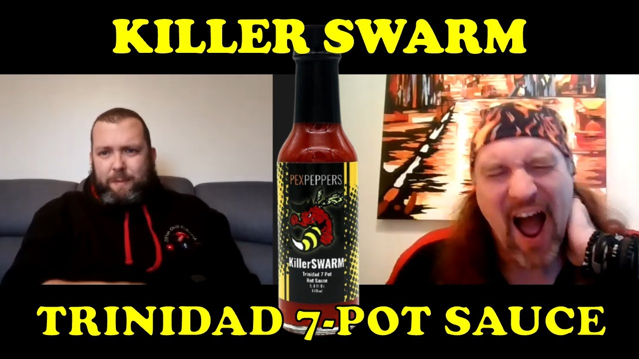 Killer Swarm Trinidad 7 Pot Hot Sauce