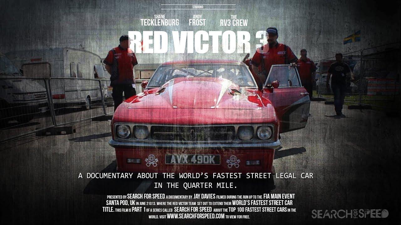 Full 50 min Film) The World\'s Fastest Street Legal Car - Red Victor ...