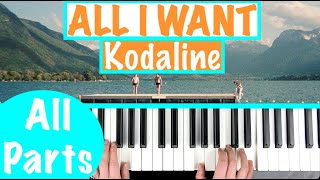 "How to play ""All I WANT"" - Kodaline 