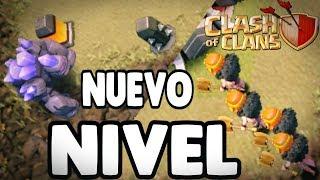 PROBANDO NUEVO NIVEL DE GOLEM Y VALQUIRIAS||CLASH OF CLANS||guillenlp28