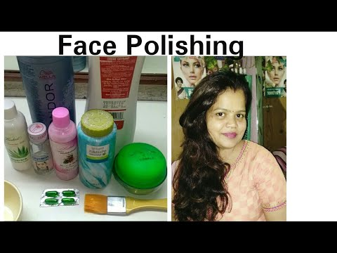 DIY Face POLISHING | Skincare Routine | Get Glowing Skin At Home | Remove Dead Skin Cells |