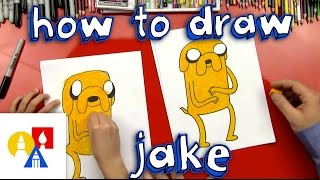 How To Draw Jake The Dog From Adventure Time