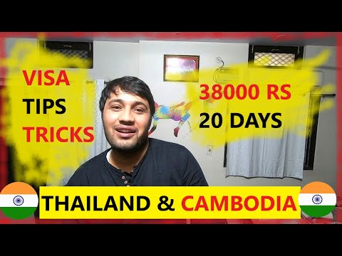 CHEAPEST Trip To THAILAND And CAMBODIA || Visa And Tips & Tricks || Travel Guide In Hindi