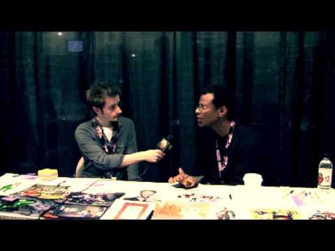 PHIL LAMARR (Futurama, Samurai Jack, Obama impressions) Interview w/ Press+1 (Calgary Expo 2013)