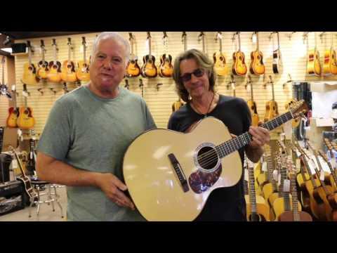 Rick Springfield stops by Norman's Rare Guitars