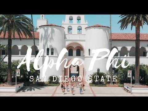 Alpha Phi SDSU | 2018