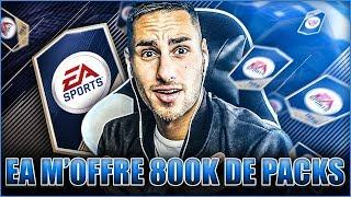 EA M'OFFRE 800 000 CREDITS DE PACKS - DU LOURD ?! FIFA 18 PACK OPENING
