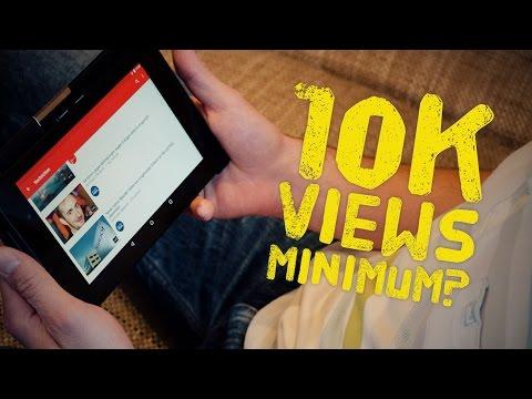 Buat Duit Dengan YouTube - 10k Views Diperlukan!