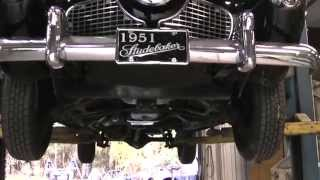 1951 Studebaker Commander Land Cruiser: Changing The Transmission Fluid.