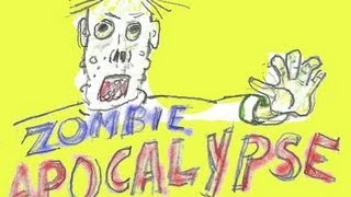 Zombie Apocalypse Paper Game and Giveaway