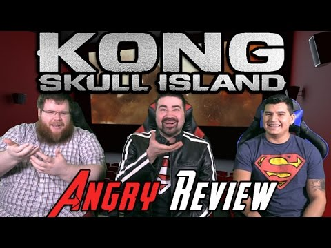 Kong: Skull Island Angry Movie Review