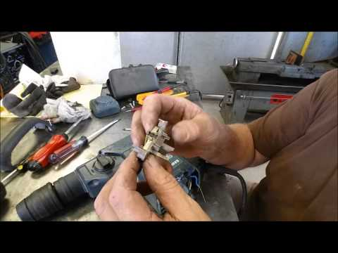 Bosch 11236VS Rotary Hammer Repair