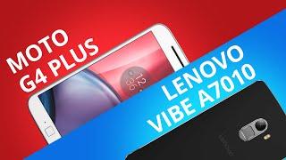 Moto G4 Plus vs Lenovo Vibe A7010