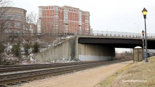 Amtrak, CSX & VRE at Alexandria Station