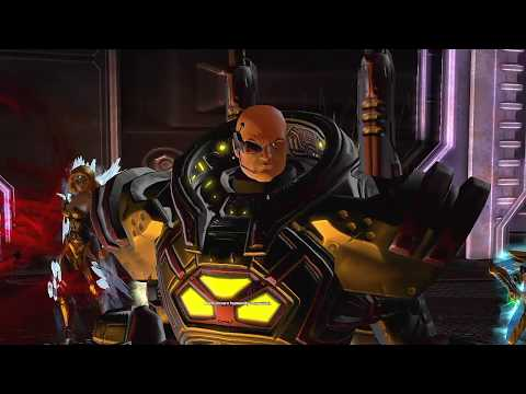 DC Universe Online Darkseid War Factory as Earth DPS