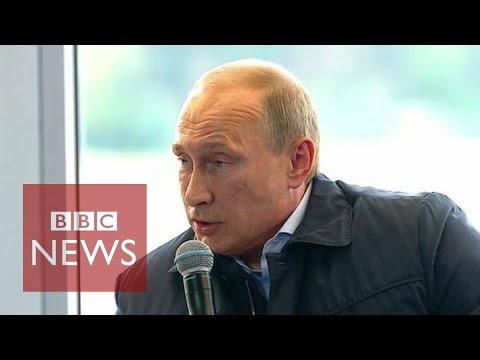 Putin says situation in Ukraine reminds him of WW2 - BBC News