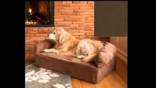 Snoozer Sn 69540 Luxury Sofa Pet Bed Hot Fudge Extra Large Memory Foam