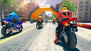Bike Racing Rider - Gameplay Android game - motorcycle racing game
